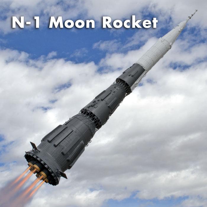 N-1 Moon Rocket
