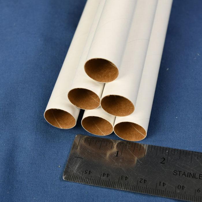 """Standard BT-20 Model Rocket Body Tube 18/"""" Long White"""