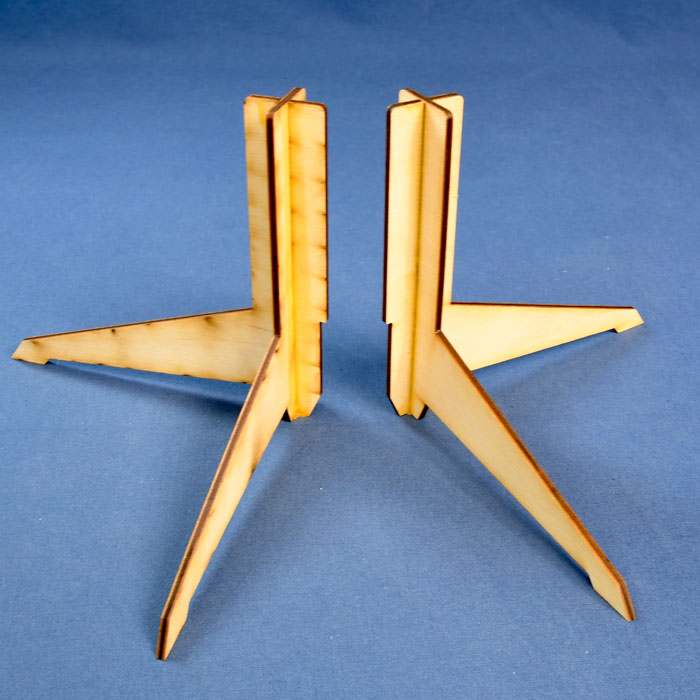 """Display Stand"""" Two Tetrahedra Compound (Byriah Loper) 