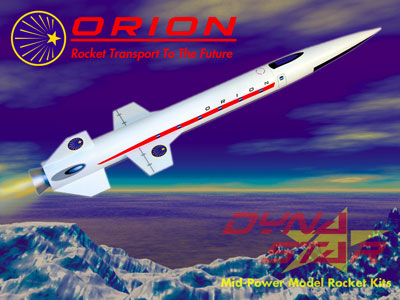 Orion Rocket. Imagine flying this to some distance planet.