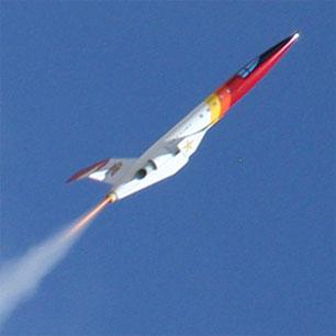 DynaStar Mid-Power Rocket