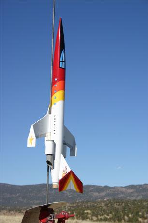 LexxJet on the launch pad
