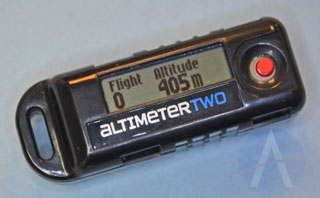 AltimeterTWO Displaying Meters