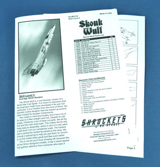 Skonk Wulf paper instructions