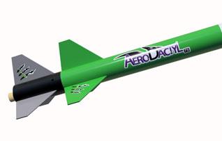 AeroDactyl Decals on the rocket