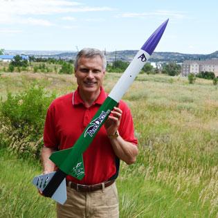 A big but lightweight rocket