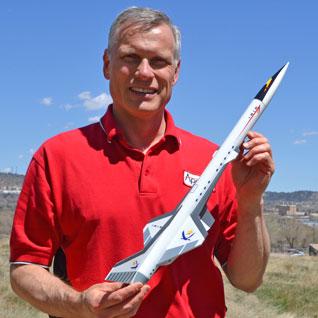 Size of the Ibis rocket kit