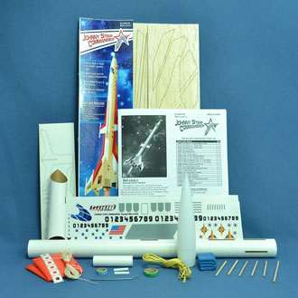 Parts in the Johnny Star Commander rocket